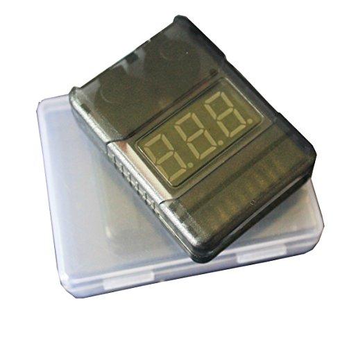 1-8S LED Lipo Voltage Indicator Checker - 9
