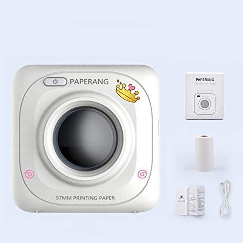 XZYP Paperang Mini Impresora Bluetooth, Impresora Portátil ...