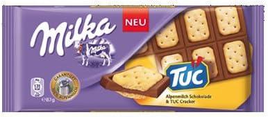 Milks Tuc Cracker Chocolate Bar 87g