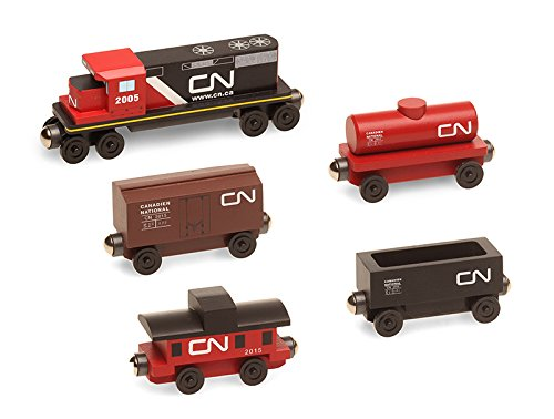 canadian-national-5-car-wooden-toy-train-set-by-whittle-shortline-railroad