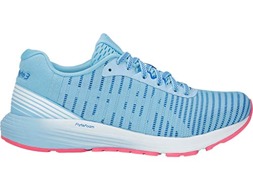 ASICS Women's Dynaflyte 3 Running Shoes, 7M, Skylight/White