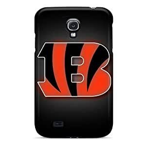 Protector Hard Phone Cases For Samsung Galaxy S4 (dwn8574kFCr) Support Personal Customs Attractive Cincinnati Bengals Skin