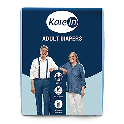 Kare In Adult Diapers, Medium, 10 counts & Kare In Adult Diapers, Pants Style Underwear, Medium, 10 counts