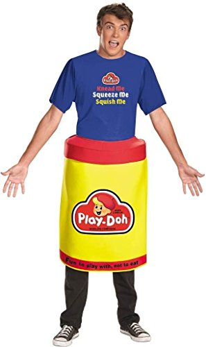 Play Doh Costume Halloween (Play Doh Deluxe Costume - X-Large - Chest Size 42-46)