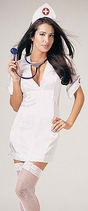 Check Up - Women's Sexy Nurse Costume Lingerie Outfit