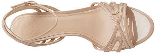 Bride Escarpins Dress Natural Noir Beige Cheville Guess Footwear Medium Nude Sandal Femme wtIR5yfqW
