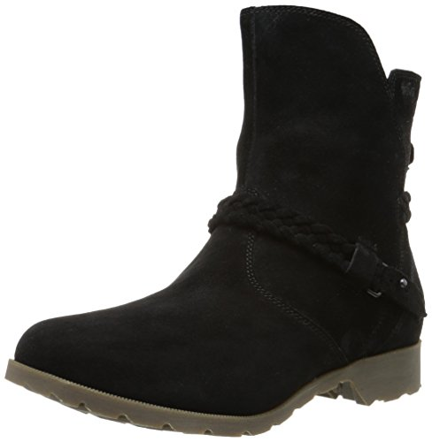 Suede Mid Calf Boots - 6