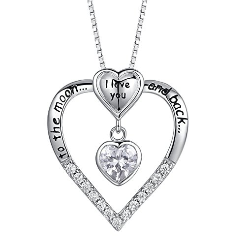 MLYSA Love Heart Pendant Necklace