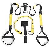 Peak Fitness Cross Fit para entrenamiento en suspensión con anclaje para puertas