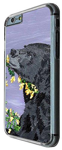 426 - Coll Black Bear Design iphone 6 6S 4.7'' Coque Fashion Trend Case Coque Protection Cover plastique et métal