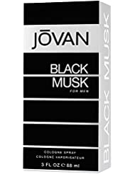 Jovan Black Musk by Jovan for Men - 3 Ounce Cologne Spray