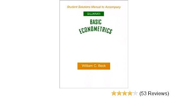 basic econometrics 4th edition solution manual