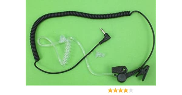 Listen only headset 3.5mm Remote Speaker Mic Motorola APX6000 APX7000 APX4000