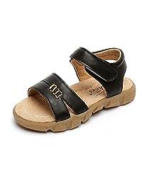 BININBOX Summer Breathable Sandals Girl Boys Toddler Kid Shoe Open-Toe PU