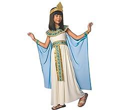 MORPH Disfraz de Cleopatra para niña Carnaval - Pequeño - (3 - 5 ...