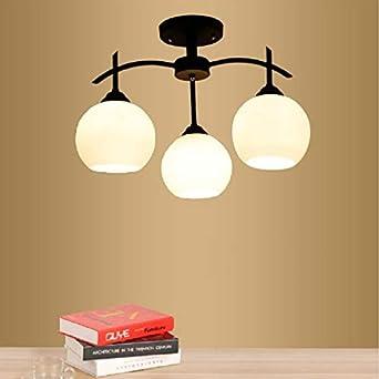 Lámparas LED de techo modernas con luz LED 3 cabezas de la sala de ...