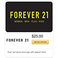 Forever 21 Email Gift Card