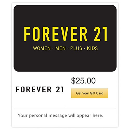 (Forever 21 Flowers Gift Cards - E-mail)