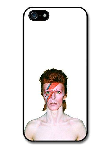 David Bowie Eyes Closed Lighting Portrait coque pour iPhone 5 5S