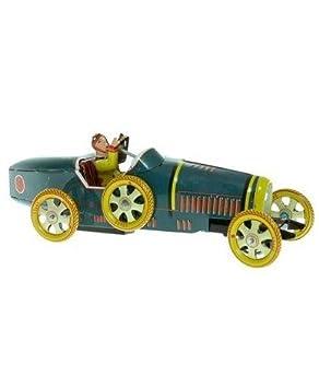 Bugatti À T35 Clé Mécanique En Voiture Métal Réédition Jouet Tôle 7yvIbYf6g