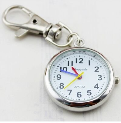 BrandChef(TM) Hot Popular Women's Cute Nurse Fob Brooch Pocket Watch Bronze Quartz vintage pocket watch Movement Keychain Keyring Watch [ 4 ]
