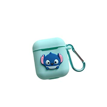 Cradifisho Carcasa Airpods, Stitch Funda Protector Airpods ...