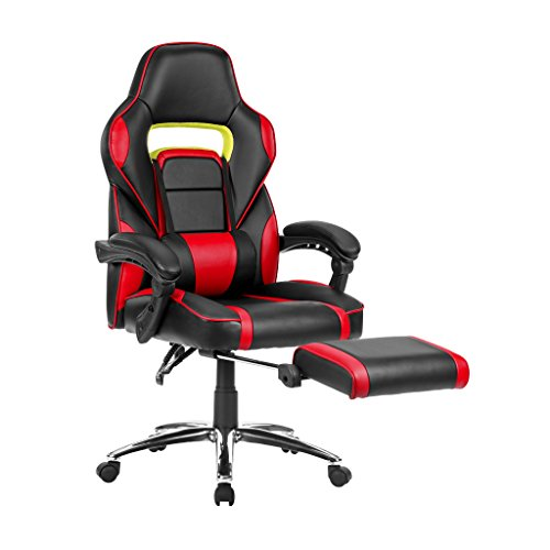 Langria Faux Leather Racing Gaming Chair Computer Office