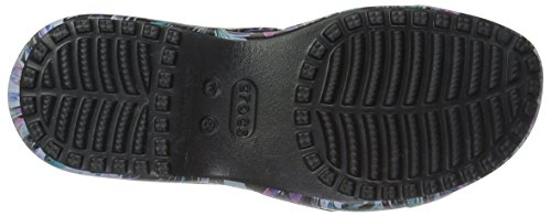 Crocs Kvinners Meleen Vri Grafisk Flat Sandal Tropisk Floral