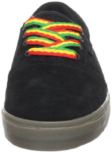 Gevallen Mens Lotus Skate Schoen Zwart / Gom
