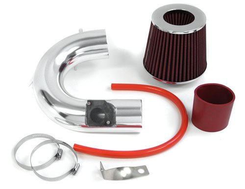 00-05 Toyota Celica GTS GT-S Short Ram Air Intake Kit Red Filter 01 02 03 (Celica Gt Short Ram Intake)