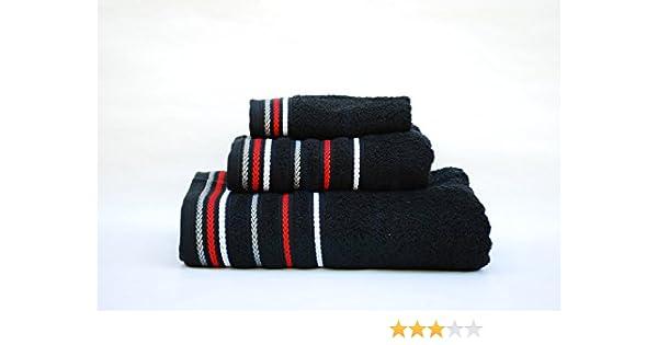 Juego toallas 3 piezas. 100% algodón ALTA CALIDAD. Densidad 520 gr ...