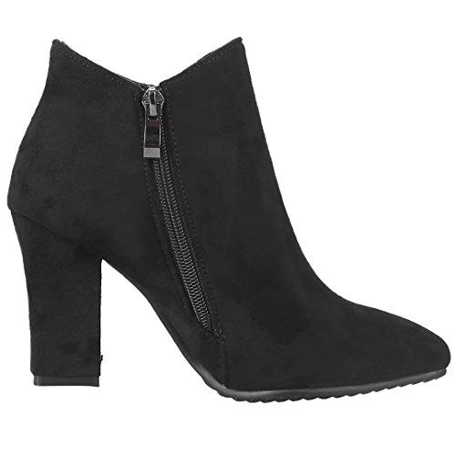 Elegant AIYOUMEI Reißverschluss Damen Schleife Ankle AIYOUMEI Elegant Stiefel 59ac7c
