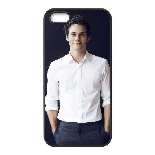 Dylan O'Brien 002 coque iPhone 5 5S Housse téléphone Noir de couverture de cas coque EOKXLLNCD18120