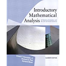 Introductory  Mathematical  Analysis for Business, Economics and the Life and social Sciences (11th Edition)