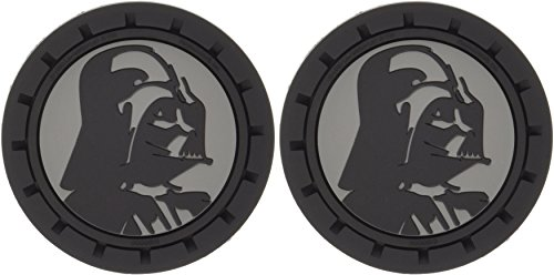 Plasticolor 000673R01 Star Wars Darth Vader Cup Holder Coaster (Cup Holder Coaster)
