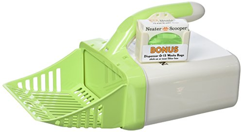 Neater Pet Brands Scooper Cat Litter Scoop, Green - Pet Litter Scoop