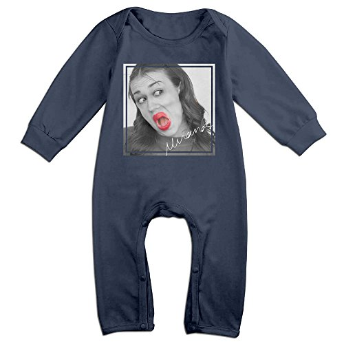 Price comparison product image PCY Newborn Babys Boy's & Girl's Miranda Sings Long Sleeve Baby Climbing Clothes For 6-24 Months Navy Size 12 Months