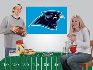 NFL Carolina Panthers Party Kit - Fan Kit Party Nfl Banner