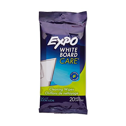 EXPO Disposable Whiteboard / Dry Erase Board Cleaning Wipes by Expo
