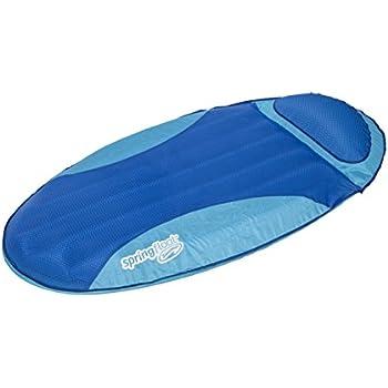 Amazon Com Swimways Spring Float Sundry Lounger Blue
