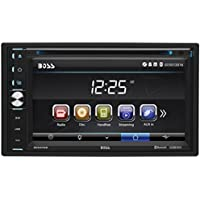 BOSS Audio BV9376B Double Din, Touchscreen, Bluetooth, DVD/CD/MP3/USB/SD AM/FM Car Stereo, 6.5 Inch Digital LCD Monitor, Wireless Remote