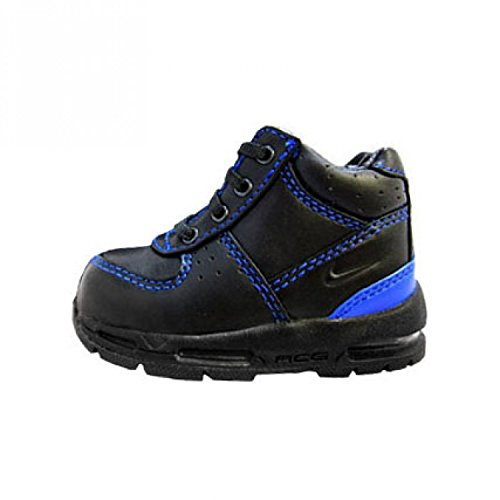 Nike Peuter Lucht Goadome Laars Zwart / Zwart-vrsity Royal