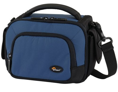Lowepro Clips 110 Shoulder Bag for Digital Camcorder (Arctic Blue) by Lowepro