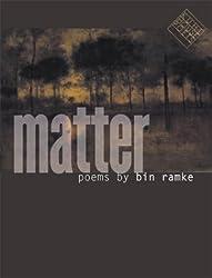 Matter (Kuhl House Poets)