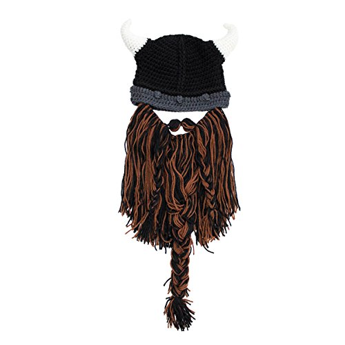 Bárbaro nbsp;– Gorro de nbsp;el Color Beard barba original Knit pillager Head® Multi HZ5qI