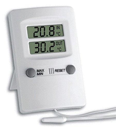 Private Digital Hi Lo Memo Inside Outside Thermometer Veterinary Temperature Farm by Private