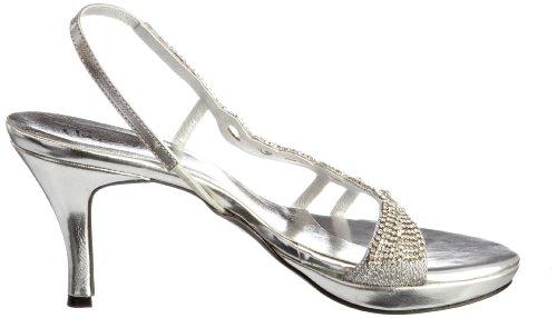 Argent Sandales Evening L18451w femme Sandals Unze pw0vqAp
