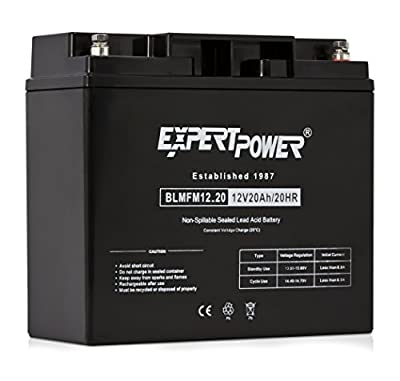 ExpertPower 12 Volt Sealed Lead Acid Batteries (12/18)