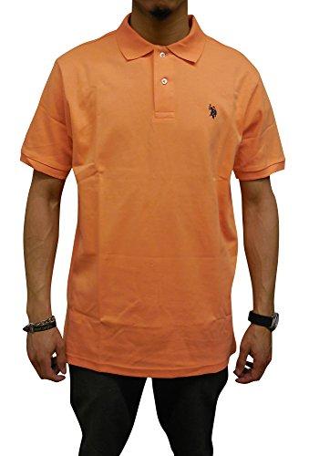 us-polo-assn-mens-short-sleeve-interlock-polo-honey-orange-medium