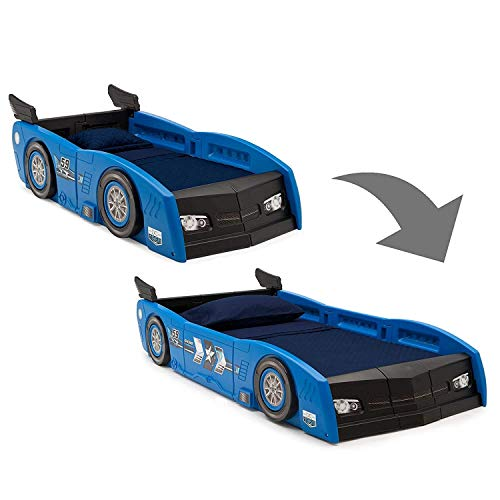 Delta Children Grand Prix Race Car Toddler Twin Bed